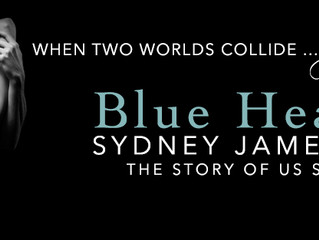 Cover Reveal - Blue Hearts Sydney Jamesson