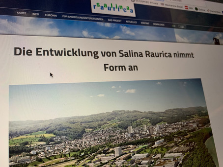 Salina Raurica kommt voran