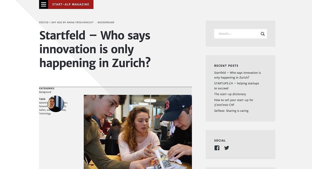 Start-Alp Magazine LOC Consulting Remo Daguati