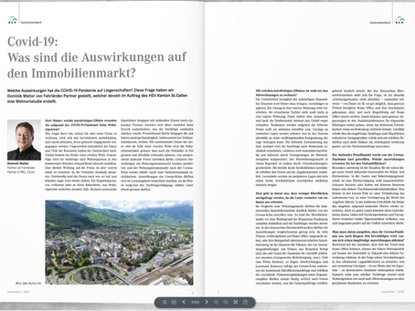 Covid-19: Was sind die Auswirkungen auf den Immobilienmarkt?