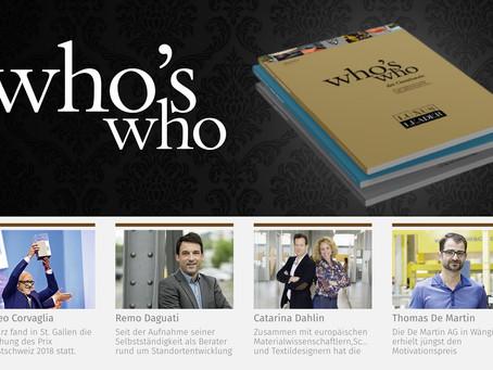 who's who der Ostschweiz erschienen
