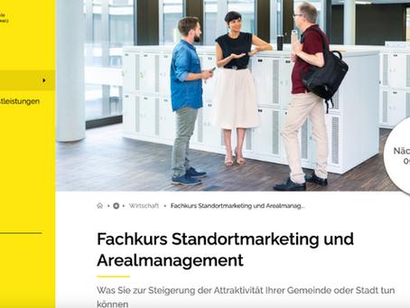 Fachkurs Standortmarketing und Arealmanagement