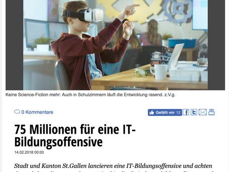 75 Millionen für IT-Bildungsoffensive