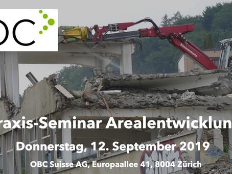 Praxis-Seminar Arealentwicklung (3. Durchführung)