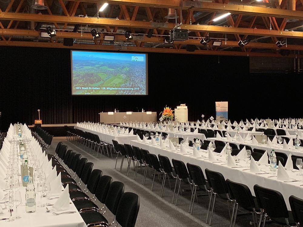 126. Mitgliederversammlung HEV St.Gallen