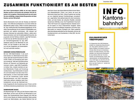 Kooperative Planung und Vermarktung - Beispiel Kantonsbahnhof Uri