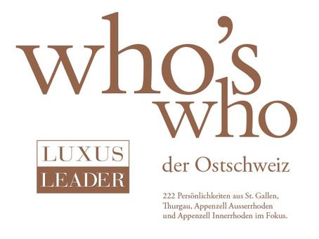 who's who 2017 Ostschweiz erschienen