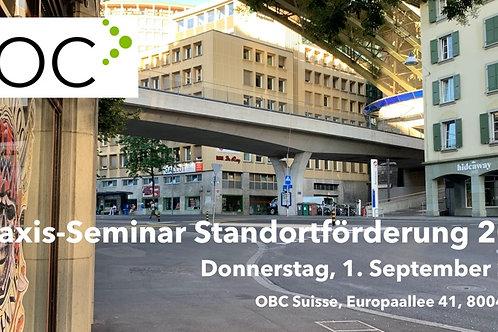 Seminar Standortförderung 2022 DO 01.09.22 Zürich