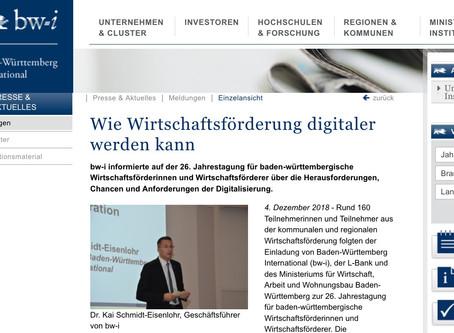 Wie Wirtschaftsförderung digitaler wird