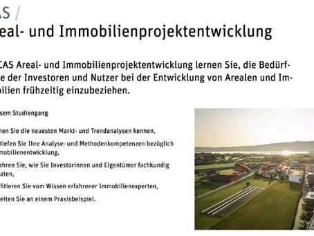 CAS Areal- und Immobilienprojektentwicklung 2021