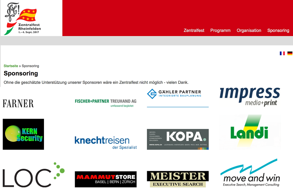 LOC Consulting Sponsoring Partner Zentralfest