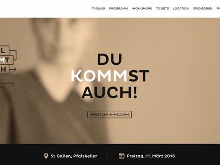 Erster Kommunikationstag St.Gallen - «Paul und LOC kommen auch»