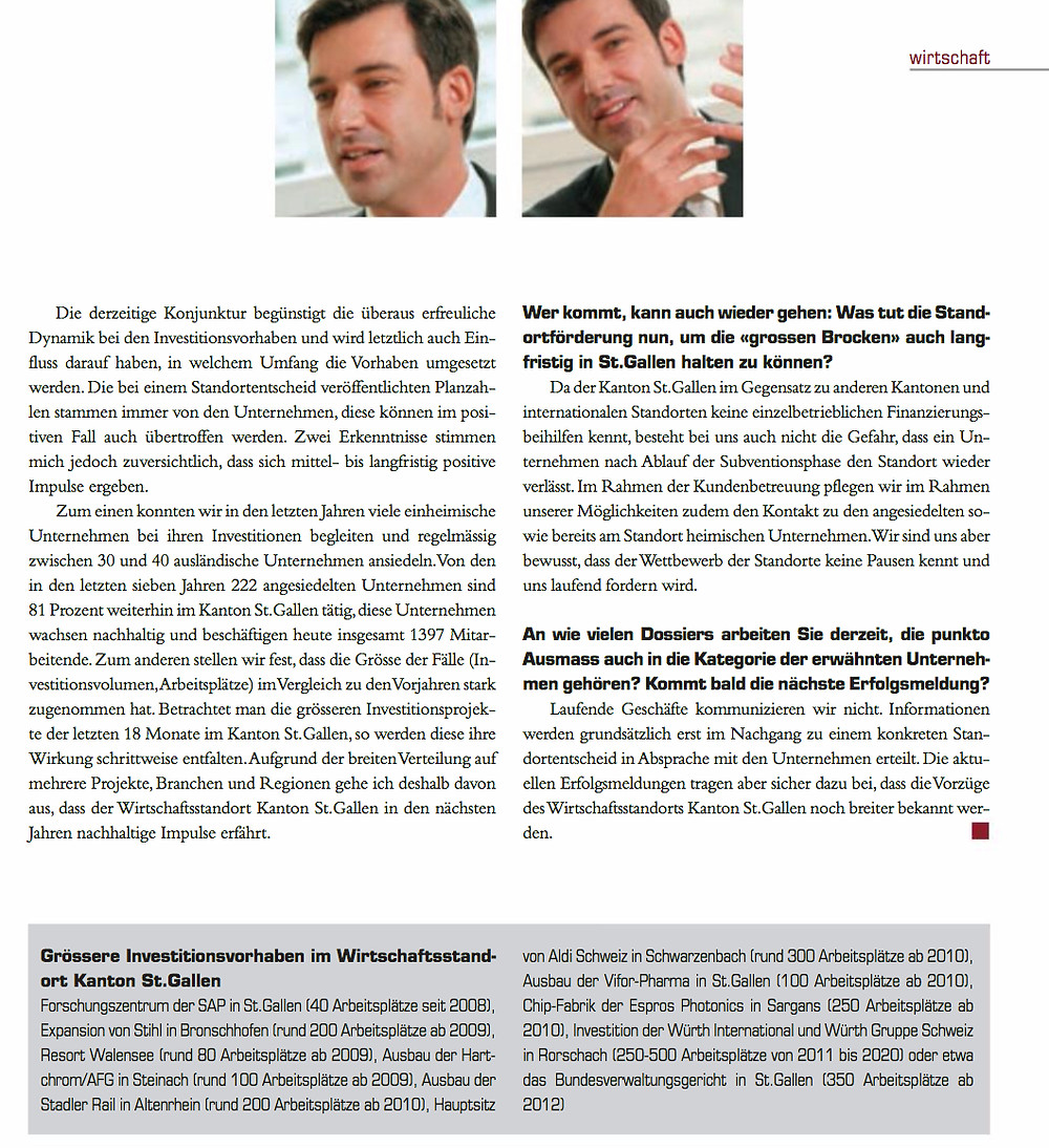 Artikel Leader Unternehmermagazin September 2008