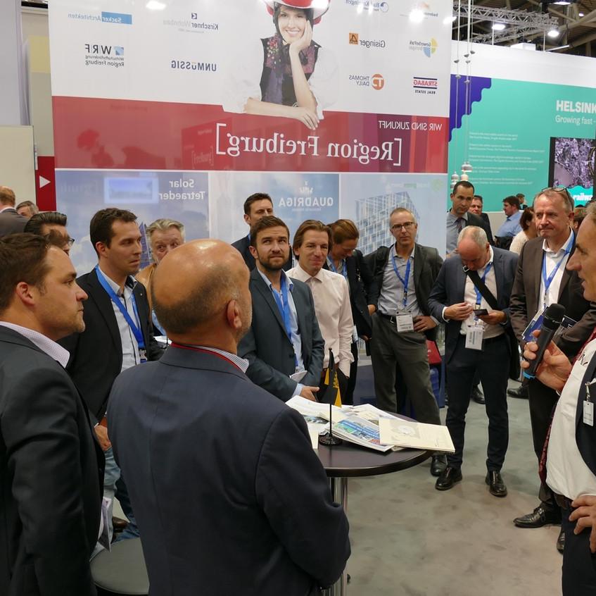 Exklusiver Besuchstag EXPO REAL 2017 durch SVSM, VSLI, SVIT Zürich und LOC