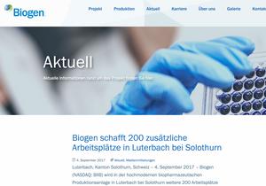 Biogen Luterbach LOC Consulting Remo Daguati
