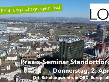 Erfolgreiches Praxis-Seminar Standortförderung der LOC AG