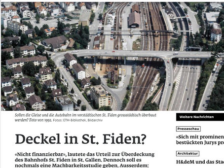 """Mehrheit für vertiefte Machbarkeit einer """"Stadt über den Geleisen"""""""