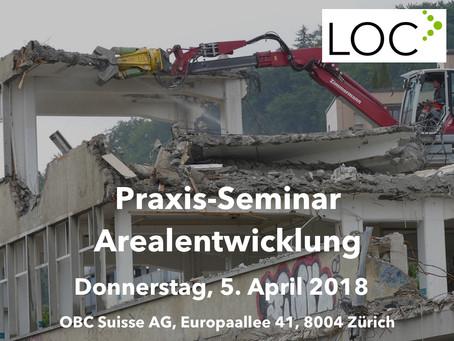 2. Durchführung: Praxis-Seminar Arealentwicklung