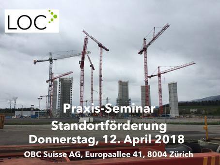 Praxis-Seminar Standortförderung 12. April 2018