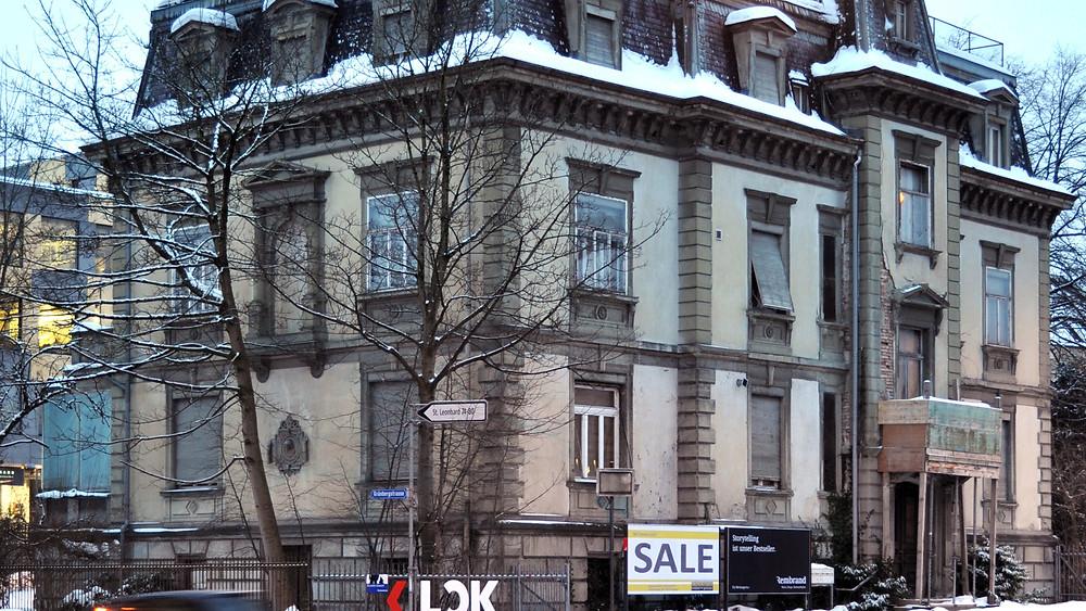 Negativ-Beispiel Villa Wiesental