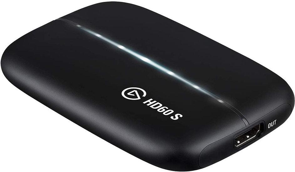 Elgato Capture HD60 S - Diffusez, enregistrez et partagez votre gameplay en 1080