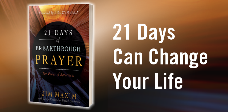 Join us for an Interactive Group Reading of  21 Days of Breakthrough Prayer - The Power of Agreement