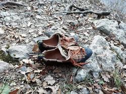 Le vecchie scarpette di Giuliano