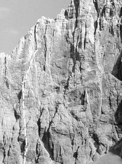 Via dei Fodomi parete nord est Civetta