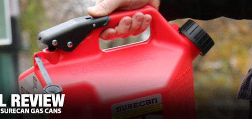 Real Review: SureCan Gas Cans