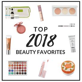 Top 2018 Beauty Favorites