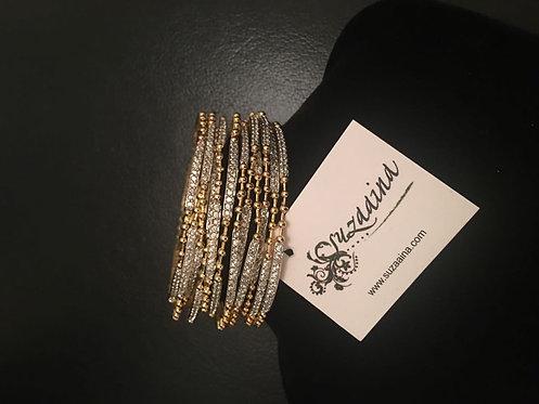 Sibgha 22k Gold plated Bangles.