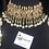 Thumbnail: Diana 24k Gold plated Handcrafted Choker Bridal Set