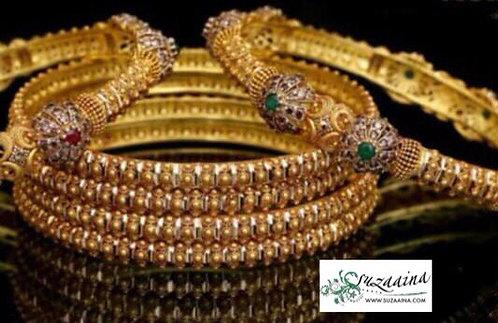 Hajra 24k Goldplated Set of bangles