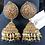 Thumbnail: Ayda 22k Gold plated Jhumkey.