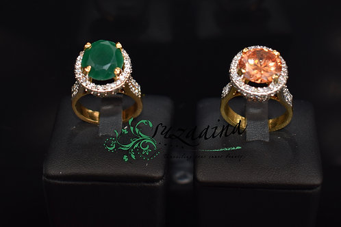 Geet 22k Gold plated Ring
