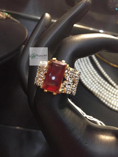 Aaniya 22k Gold Plated Ring