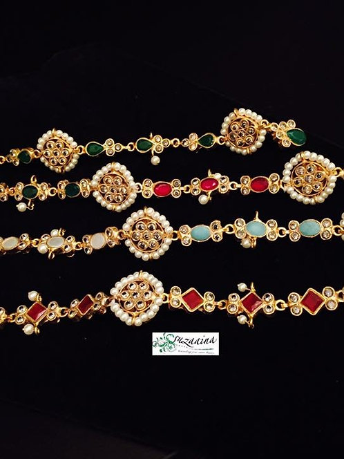 Aaraisha Gold Plated Buttons