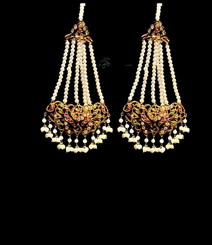 Jharoka 24k Gold plated Earrings.