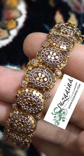 Hatim 22k Goldplated Bracelet