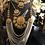 Thumbnail: Fatima 22k Gold plated Kundan and Pearls Royal Bridal Set