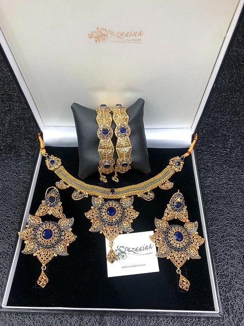 Safina 22k Gold plated Set.