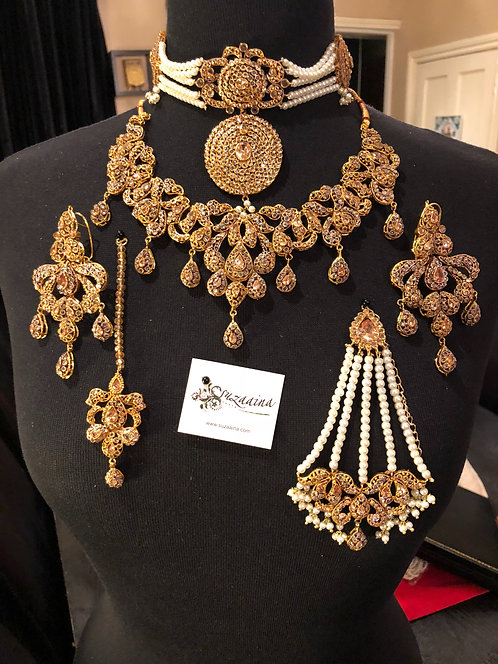 Sahiba Choker and Necklace Bridal Set