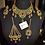 Thumbnail: Nigha 22k Gold plated Bridal Set.