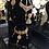 Thumbnail: Hira 22K Gold plated Handcrafted Kundan Bridal Set.