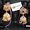 Thumbnail: Jesenia 22k Gold plated Jhumkey