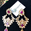 Thumbnail: Ammara 22k Gold Plated Handcrafted Earrings