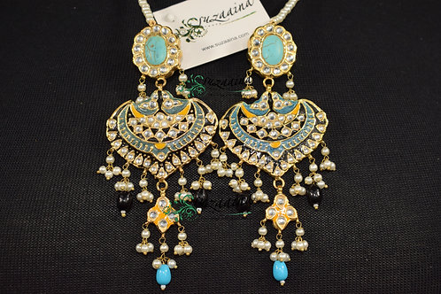 Meena 22k Gold plated Handcrafted Earrings SZER6