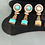 Thumbnail: Sabra 22k Gold plated Earrings