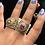 Thumbnail: Roma 22k Gold Plated Ring