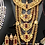 Thumbnail: Sila 22 k Gold plated Handcrafted Bridal Mala Set